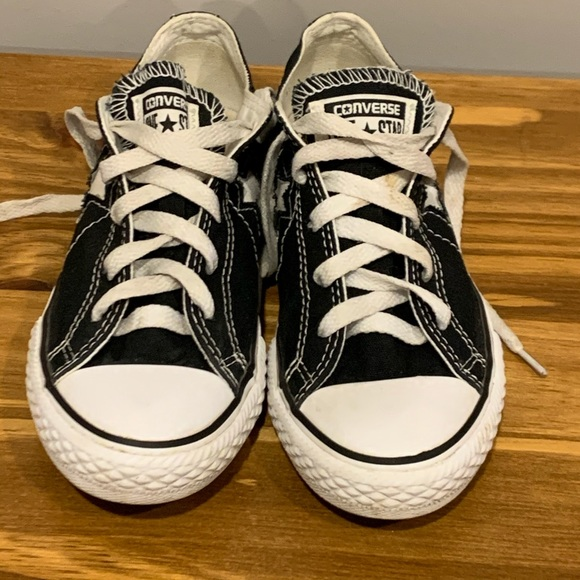 Converse Other - Converse All Star Chuck Taylor Low Cut Junior